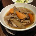 八っちゃん - 根菜の田舎煮(\450)