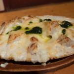 79260222 - レンコンと海老の濃厚チーズグラタン