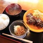 食堂 - 料理写真:特製味噌タレ  チキンカツ定食