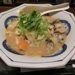 リンガーハット - 牡蛎みそちゃんぽん961円