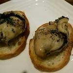 オイスターバー ゆいっとる - 牡蠣スモーク