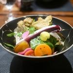 傳 - 傳サラダ