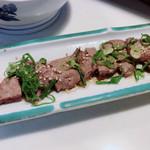 一蔵 - 料理写真:肝のソテー   美味しすぎて感動しました!ここのとこ1美味しい食べ物でした!