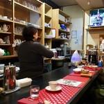 ヒーリングカフェ あんず - 店内風景。