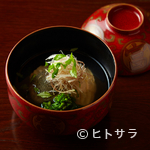 粟田山荘 - 旬の味と香り、彩りまでを生かし切る妙技が光る『お椀』