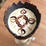 COFFEE CONE TOKYO - ほうじ茶ラテ 680円(税込)