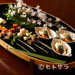 粟田山荘 - 思わず歓声! 五感に響く雅やかな『八寸』で季節を満喫する