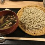 手打ち蕎麦切り 匠 - 刻み鴨汁 1350円