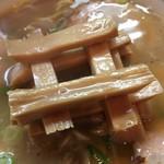 好和亭  - ねずみ様から移植されたシナチクで井桁を組みました(笑)