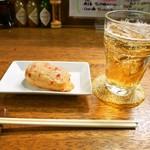 八尾蒲鉾 - 紅しょうが & バーボンソーダー