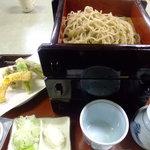 天正 - 料理写真:ざる蕎麦セット(3段)