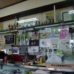 仙台屋食堂 - お店内、セルフサービス宜しくね~♪