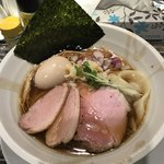 ヌードルズキッチン ガナーズ - 料理写真:【2018.1.8】特製中華そば¥1080