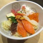 にぎにぎ一 - 北海丼