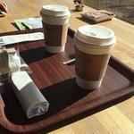天空カフェ・アウラ - コーヒーは丸山珈琲さんのオリジナルブレンド