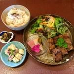 ジャム cafe 可鈴 - 【週替わりランチ(950円)】お料理が出揃いました