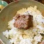 ジャム cafe 可鈴 - 【和風ミートローフ】肉々しさが美味しい、ジャムcafeさん特製ミートローフです。