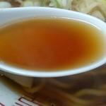 長尾中華そば - 「あっさり」は、ほぼ蕎麦つゆに近い味わい。煮干しの旨味と干物独特の軽い酸味も感じます。