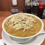日高屋 - 味噌ラーメン500円