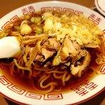 焼鶏 炭吉 - 鶏そば(温)