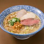 貝だしらぁ麺 ひばな - 料理写真:貝だしらぁ麺(塩) 730円+税