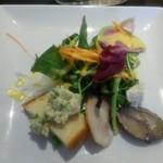 コッコロ - 前菜サラダ風