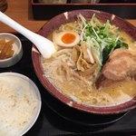 満天家 - 料理写真:豚トロ味噌ランチ