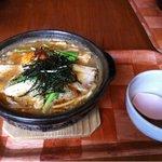 Wakafesaike - 特製鍋焼きうどん