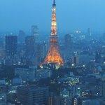 7928976 - 19時頃の東京タワー
