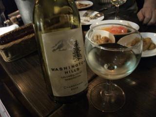 海賊の台所 船橋店 - 白ワイン/ワシントン・ヒルズ・シャルドネ/2008年