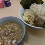 らーめん影武者 - つけ麺『アブラ増・豚2枚』(つけ汁) 2018年1月11日