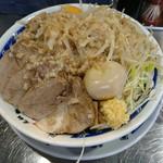 元祖ラーメン 大 - デフォで味玉+卵黄