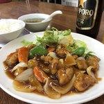 香林 - 料理写真:酢豚定食