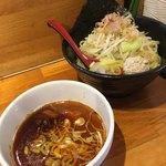 つけ麺 しろぼし - 醤油炊き 辛味しろぼし つけ麺('18/01/12)