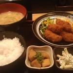 居酒屋竹ちゃん - カキフライランチ