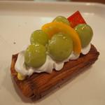 ぱんのお多福 - 葡萄のデニッシュ