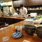 魚がし料理佃喜知 - カウンター