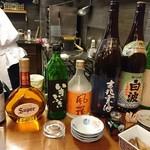 魚がし料理佃喜知 - お酒一覧?w