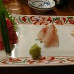 魚がし料理佃喜知 - お刺身3種
