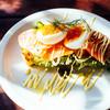 aivi-pureisu - 料理写真:スモークサーモン、イクラ、サフランクリームのカンパーニュタルティーヌ