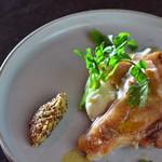 鶏モモ肉のソテー&マッシュポテト