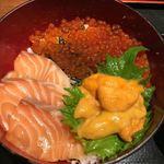 魚王KUNI(うおくに) - いくらがたっぷり