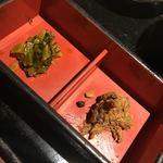 魚王KUNI(うおくに) - 小鉢2種
