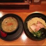 京都 龍旗信 - 鶏たいたんつけ麺 850円