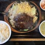 三珍 富士力食堂 - 私のハンバーグセット