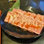 牛庵 - 黒毛和牛ランチのお肉