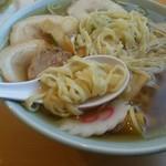 かくだや - 佐野ピロピロ麺とは異なる、しなやかな麺