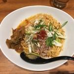 担担麺 胡 - 汁なし担担麺(並)