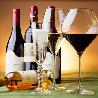 一流生産者による人気のワインを、良心的な価格で
