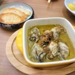 博多 とんぼ - 牡蠣のアヒージョ